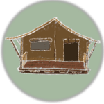icoon safaritent